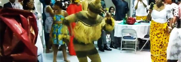 Okpaa Masquerade Appears at AOI 2014 Festival