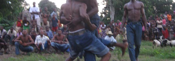 Wrestling Contest Between Villages